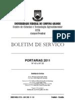 Boletim informativo 2011 _ 04