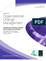 Journal of Organizational Change Management