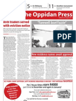 The Oppidan Press Edition 8 2011