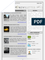 India Transport Portal Newsletter - August, 2011
