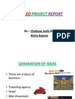 38639441 Detailed Project Report on How to Start a Hotel in Bhopal