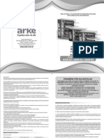 Manual Churrasqueira ARKE AGR03