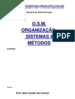 Apostila Administração - Organização, Sistemas E Métodos