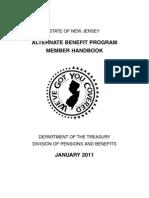 NJ Alternate Benefits Plan Member Handbook