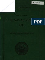 Ships Data US Naval Vessels 1912