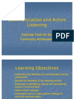 Communication and Active Listening com