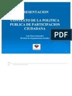 CONTEXTO PARTICIPACION CIUDADANA
