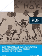 Law Reform and the Implementation of the Convention on the Rights of the Child