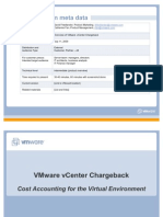 VMware vCenter Charge Back - Overview - July 09