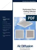 Perforated Face Web