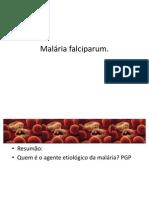 Malária falciparum. microscopi 2011