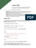 Triggers en Transact SQL