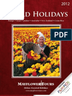 Mayflower Tours 2012 World Holidays
