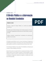 O Direito Público e a Intervenção no Domínio Econômico