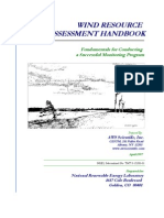 Wind Resource Assessment Handbook