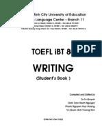 TOEFL iBT 80 - Writing - Student's Book
