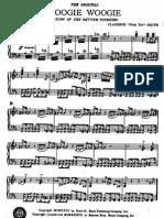 Pintops Boogie Woogie Pinetop Smith Sheet Music[1]