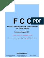Programação do FCO para 2011 - 2ª Edição - Jul2011 - versão internet