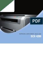 Manual Da Multifuncional Samsung SCX-4200