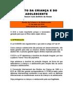 caderno - DIREITO ECA - Damásio - 2010 - 1º semestre