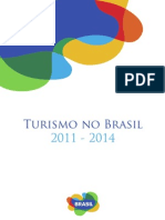 Turismo No Brasil 2011 - 2014 Sem Margem Corte