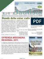 El Bautista Agosto 2011