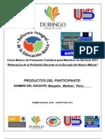 PRODUCTOS RESUELTOS DEL Curso básico FCMS 2011 unitep053 MTRA MARGARITA MARTINEZ PEREZ