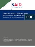 Sudan Agriculture Report
