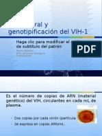 HICE Carga Viral y genotipificación del VIH-1