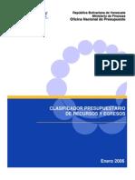 Clasificador_Presupuestario2006