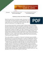 Report Fr AG BOR Suit 8-22-11