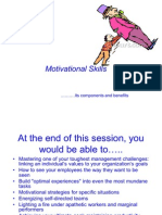 Motivational Skills