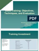 Sales Training com