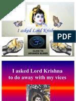 I Asked Lord Krishna 010109