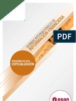 Programa de Alta Especialización en Normas Internacionales de Información Financiera