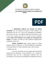 068.09 - clair simoni e seara alimentos - dano ambiental - responsabilização empresa