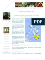 History of the Higaonon Tribe