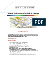 Islamic Sultanates of Acheh & Malays