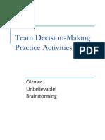 TeamDecision-MakingPracticeActivities