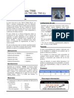 7500 Informacion Tecnica