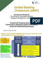 Unified Banking Process Framework