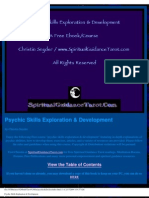 14234771 Psychic Skills Exploration and Development