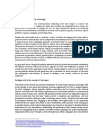 Connecting People Through Technology Background Document