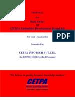 CETPA Embedded Development Board