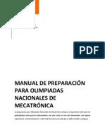 Manual de Preparacin Para Olimpiadas Nacionales de Mecatrnica