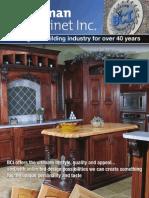 Branaman Cabinet Brochure