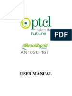 AN1020-16T User Manual