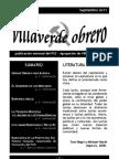 Villaverde Obrero - Número 3 - Septiembre 2011