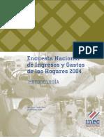 Metodología ENIG 2004