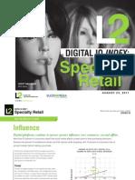 L2 Specialty Retail DigitalIQ 2011
